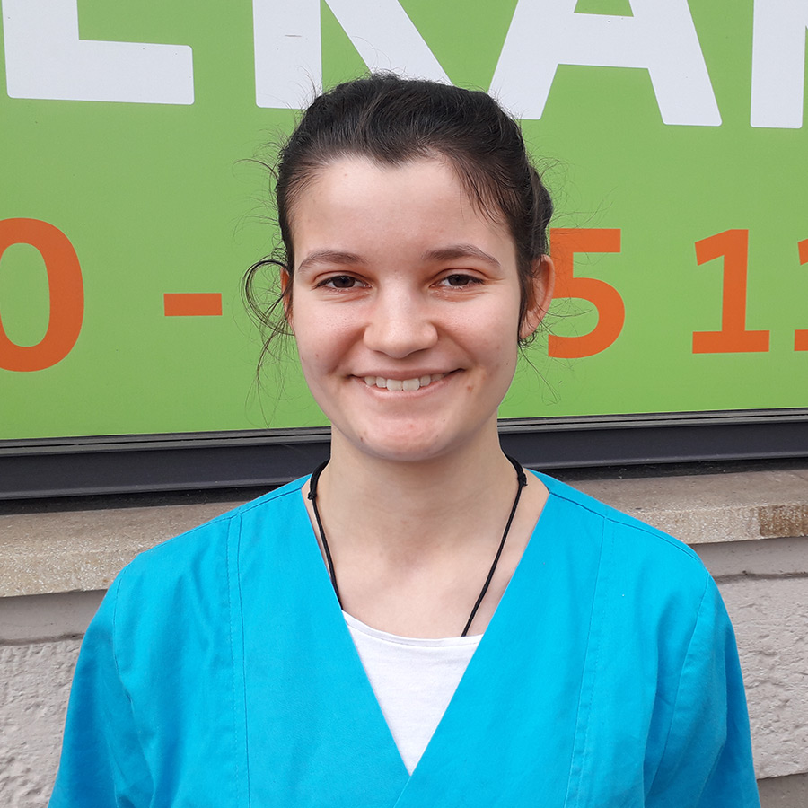 Marlena Bestla - Auszubildende Tierarzthelferin